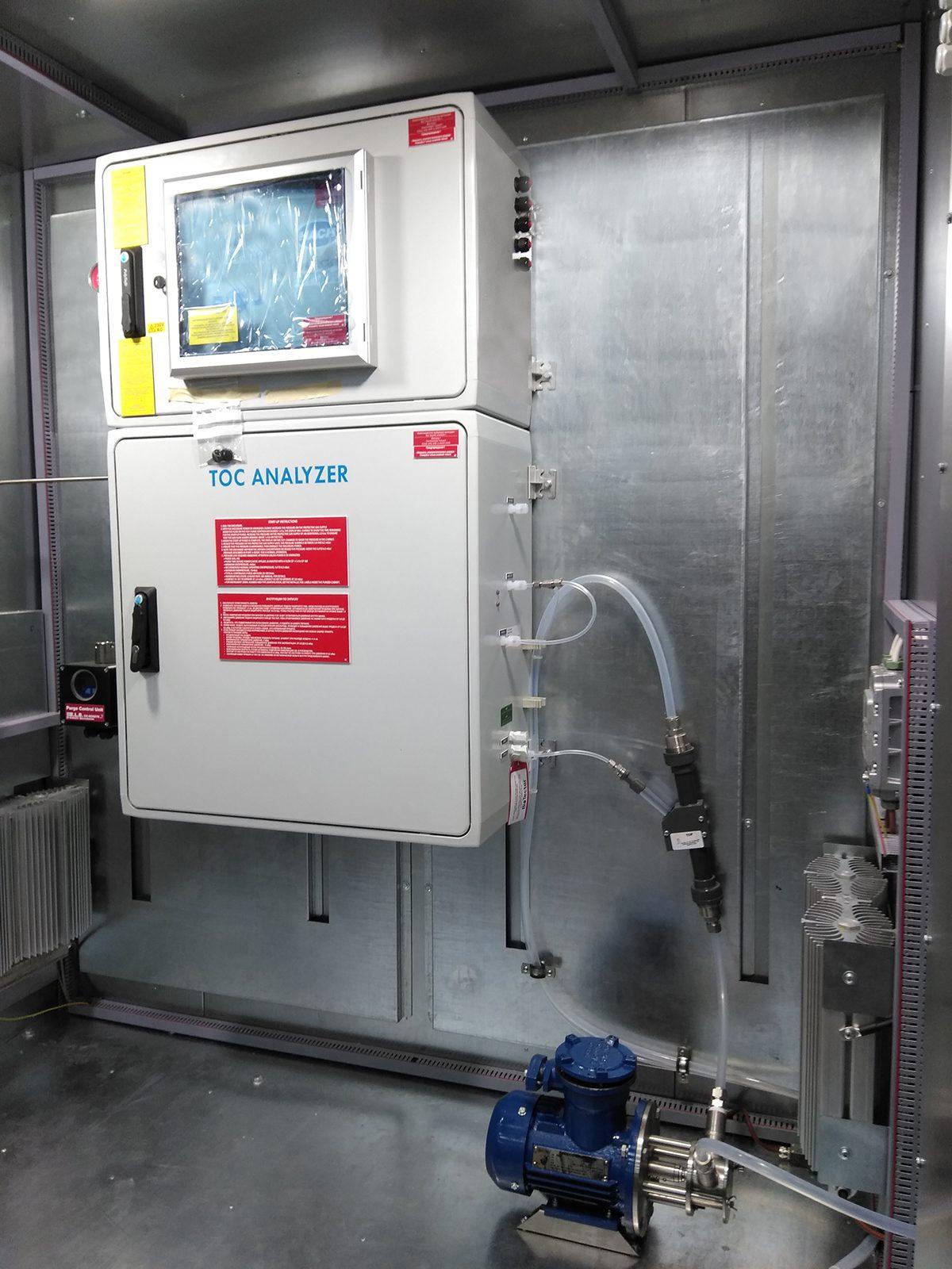 Автоматическая система контроля сбросов сточных вод