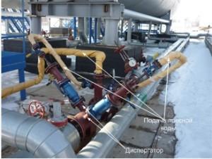 Блок-модуль обессоливания нефти