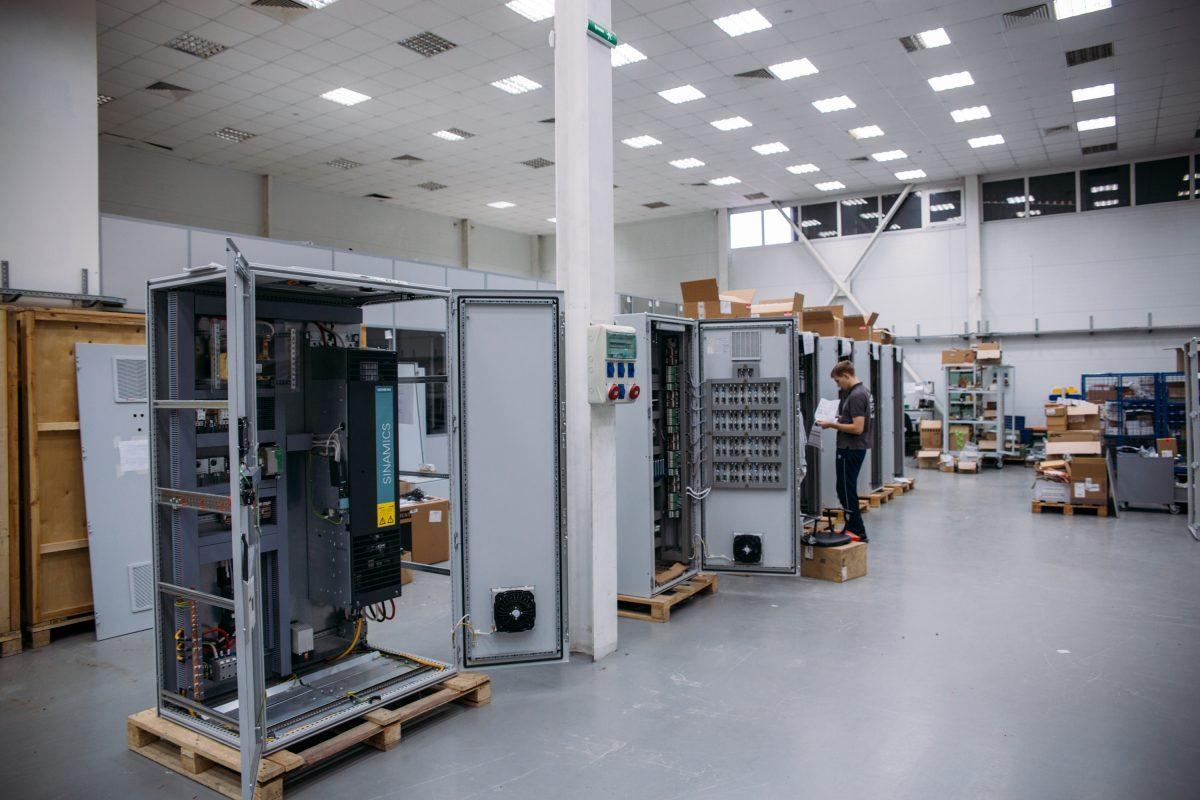 Шкафы автоматизации