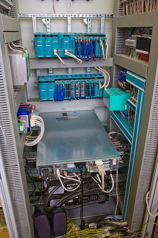 Система автоматического пожаротушения и контроля загазованности