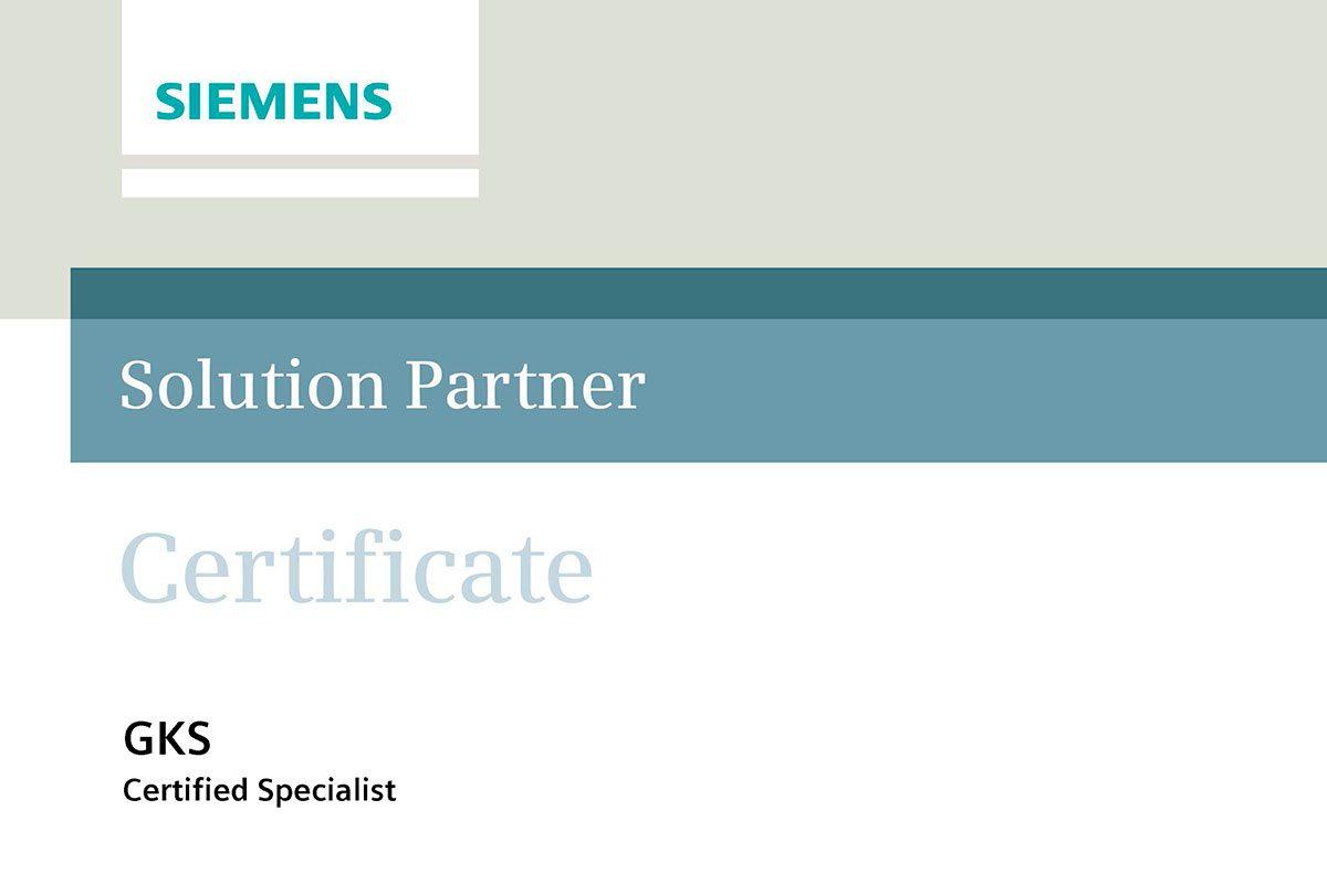 Высокая оценка и доверие от «Siemens»